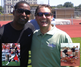 Cris Carter - Minnesota Vikings and 8 Time Consecutive Pro Bowler