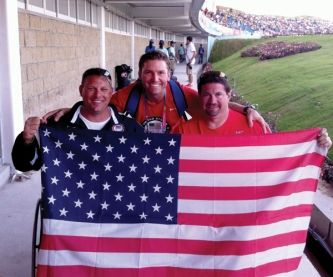 Parapan American Games, Mexico - USA Olympic Throwers, Scott Winkler and Sevrin